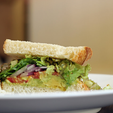 Avocado Salsa Sandwich