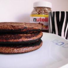 Whole-Wheat Nutella Pancakes