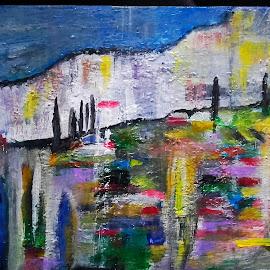 Kontemplacija i mir by Vanja Škrobica - Painting All Painting