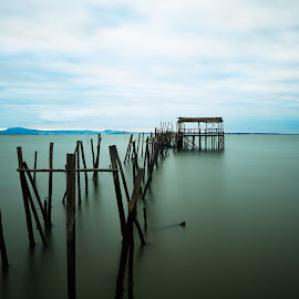 The Path... by Vitor Silveira - Landscapes Waterscapes ( sado river, setubal, carrasqueira, long exposition )