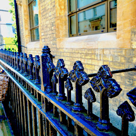 Cambridge By Bike by Victoria Eversole - Buildings & Architecture Other Exteriors ( great britain, architectural detail, cambridge university )