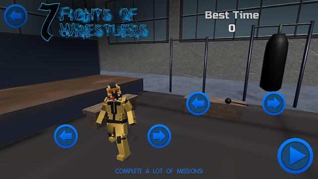 Seven Fights of Wrestlers apk screenshot