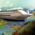 Tourist Transport Ship Game 3D