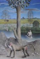 Baboon James Mortimer Painting