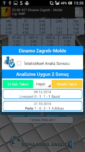 Iddaa oran analiz programı - screenshot