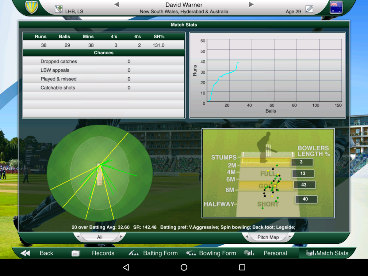 Cricket Captain 2016 Screenshot 10