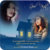 Download Night Dual Photo Frames APK on PC