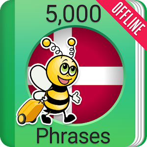Learn Danish Phrasebook - 5000 Phrases