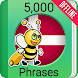 Learn Danish - 5000 Phrases