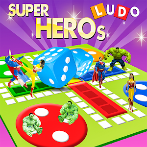 Ludo Dice Fun : Play Ludo With Superheros