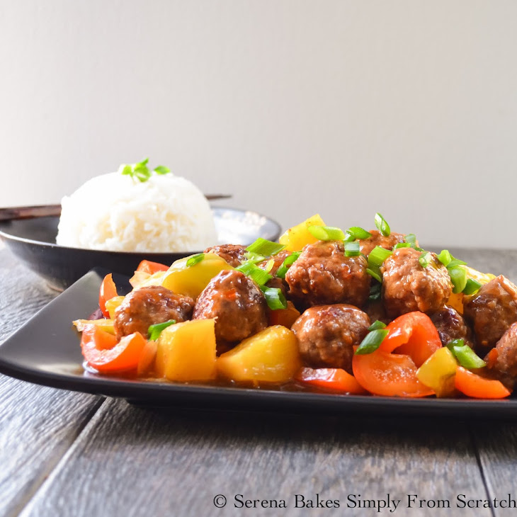 Sweet and Sour Meatballs Recipe | Yummly