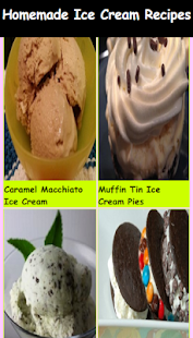 Delicious Ice Cream Recipes - screenshot