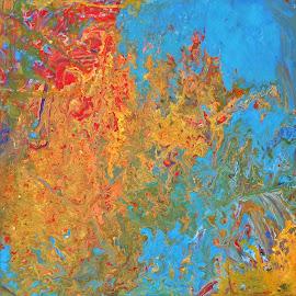 NEBULOUS by Zoritza  Wejnfalk - Painting All Painting ( nebulous, abstract art, art, zoritza, zoritzasart, wejnfalk )