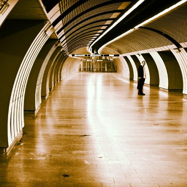 Curves Man #streetphotography  #subway  #Wien by Alex Cruceru - Instagram & Mobile Instagram