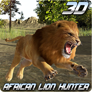 Cover art African Lion Hunter