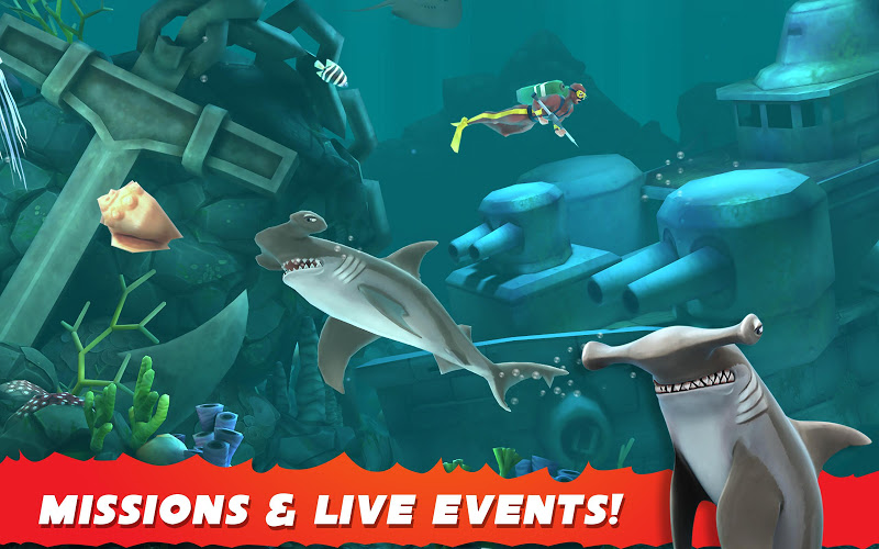 Hungry Shark Evolution Screenshot 11