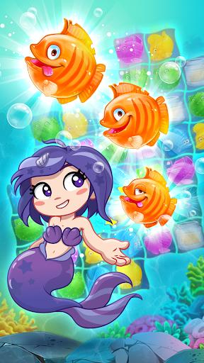 Viber Mermaid Puzzle Match 3 screenshot 4