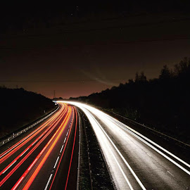 Light Trails by Kelly Taylor - Abstract Light Painting