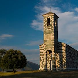 San Michele by Catherine Larocque - Buildings & Architecture Public & Historical ( landmark, church, corsica, france, historical )