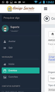 Amigo Secreto - screenshot