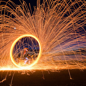 Ghost Rider by Chanwit Whanset - Abstract Light Painting