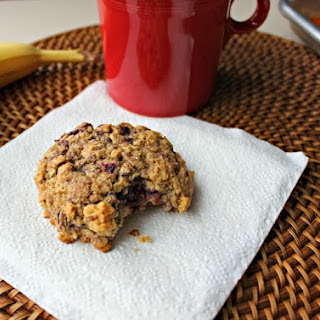 Blackberry Oatmeal Breakfast Cookies