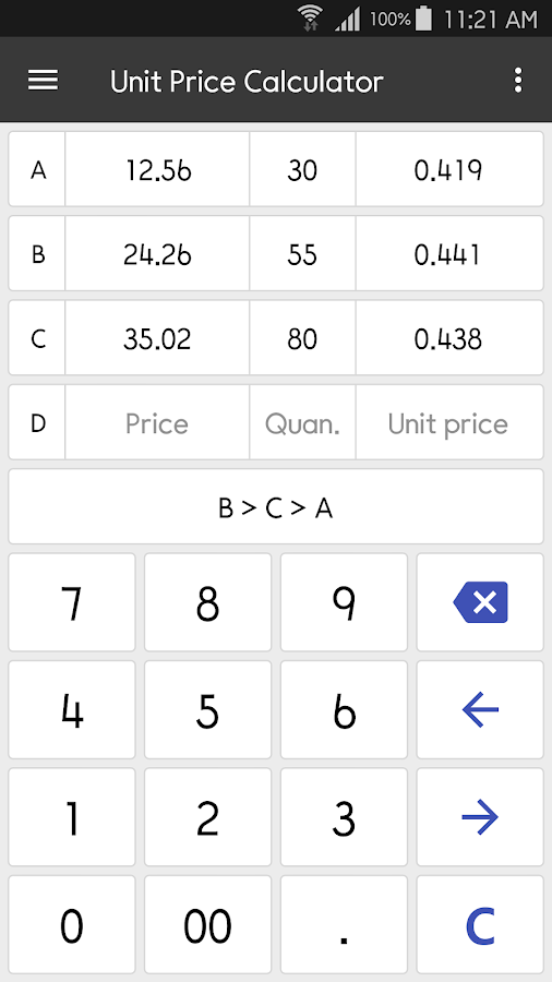 ClevCalc - Calculator Screenshot 6