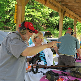 by Judy Smith - People Group/Corporate ( womenontarget, outdoor, shooting )
