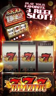 Free blazing 7's slot games
