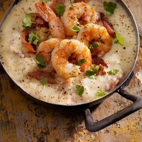 Gulf Coast Barbecue Shrimp and Grits