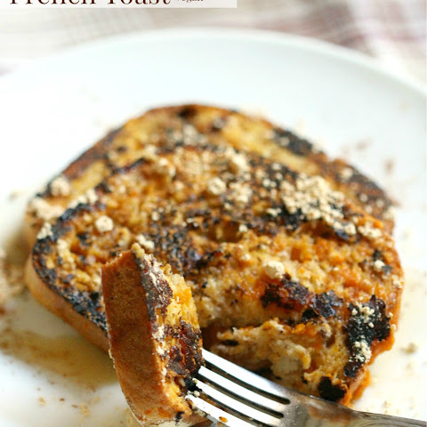 Peanut Pumpkin French Toast