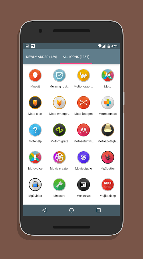 SwishHD - Icon Pack Screenshot 5