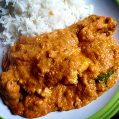 Cauliflower Dhansak (sweet and sour lentil curry)