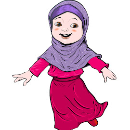Cartoon of Muslim Girl make running -Vector Illustration by Solar Garia - Illustration Cartoons & Characters ( muslim, person, graphic, cartoon, islamic, one, illustration, exercise, energetic, yellow, cute, run, eid, running, people, drawing, ramadan, kid, child, religion, girl, happy, vector, clipart, tradition, smile, smiling, isolated, art, white, traditional, young, bubarak, human, blue, female, background, costume, active, runner, view, celebration, fast, culture )
