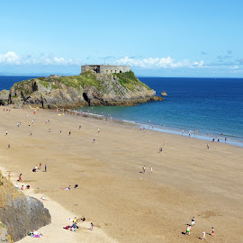 Tenby by Ingrid Anderson-Riley - Landscapes Beaches