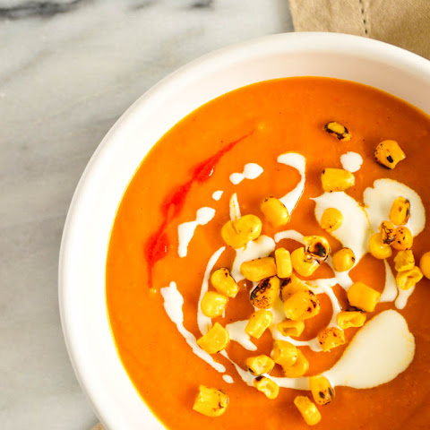 Roasted Pepper and Squash Soup