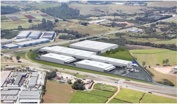 Galpão para alugar por R$ 44.896,00/mês - Ponte Alta - Atibaia/SP