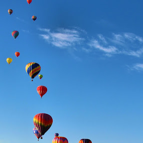 Stairway to Heaven by Jen Millard - Transportation Other ( colorado, hot, air, balloons )