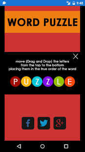 Word Puzzle - screenshot