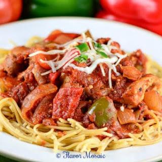 Slow Cooker Boneless Chicken Cacciatore Recipes