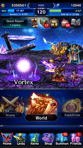 FINAL FANTASY BRAVE EXVIUS screenshot 8