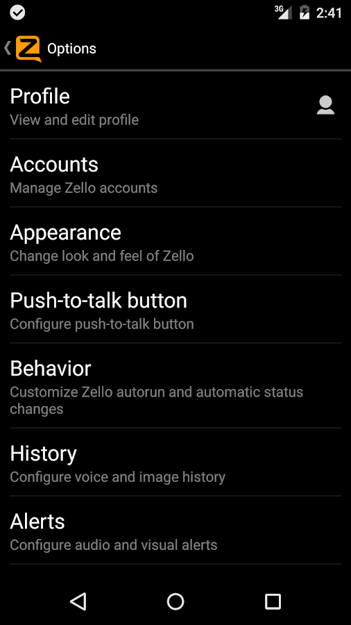 Zello PTT Walkie Talkie Screenshot 5