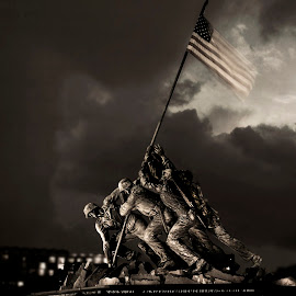 by Brook Kornegay - Buildings & Architecture Statues & Monuments ( iwo jima memorial, memorial, america, washington dc )