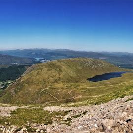 by Phil Bear - Landscapes Mountains & Hills ( mountains, highlands, uk, hills, ben nevis, lake, scotland )