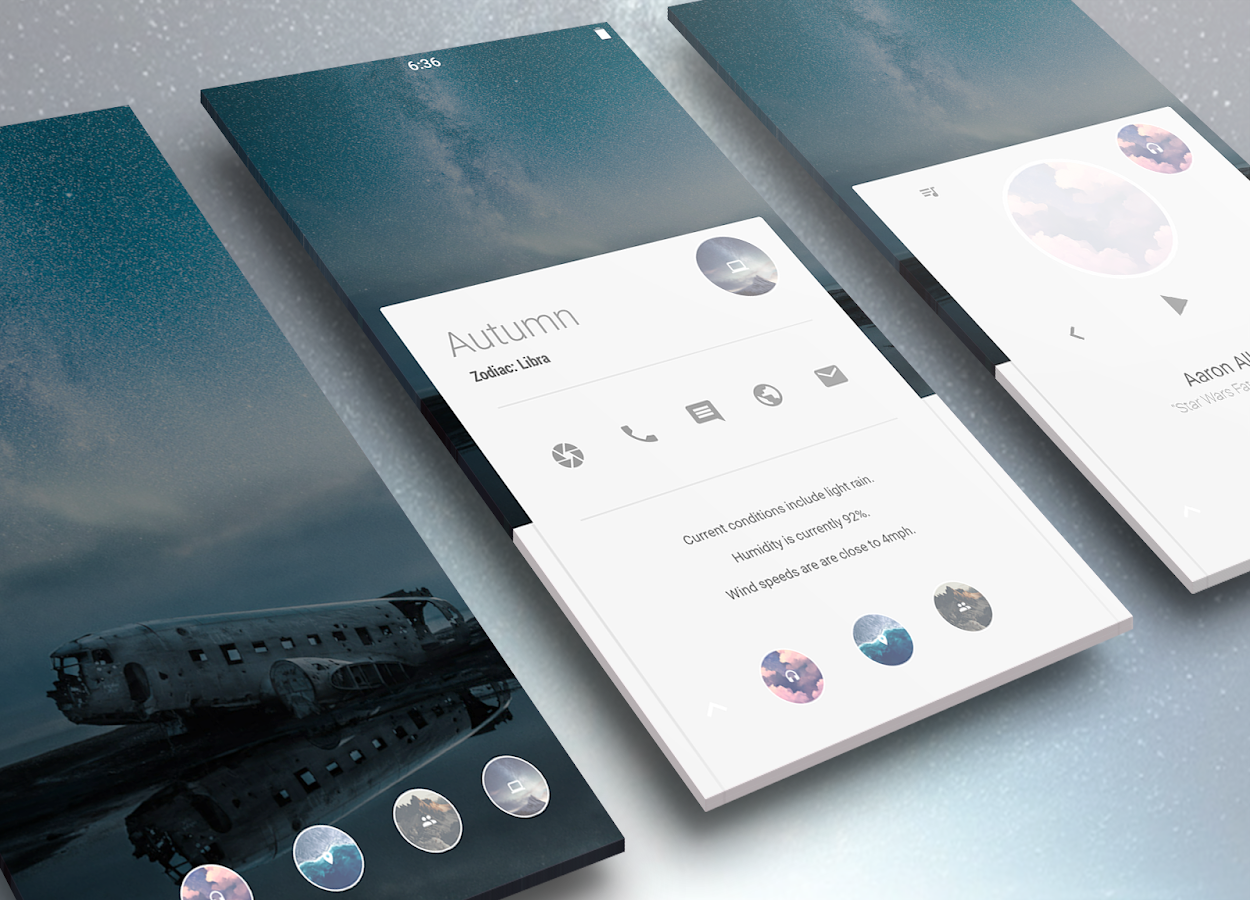 Autonomous for KLWP Screenshot 0