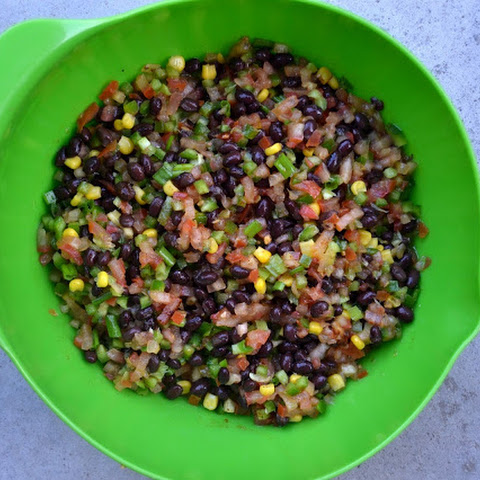 Texas Caviar AKA Black Bean Salad