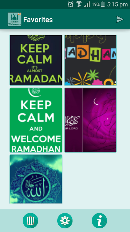 Islamic Wallpapers Ramadan Pro Screenshot 5