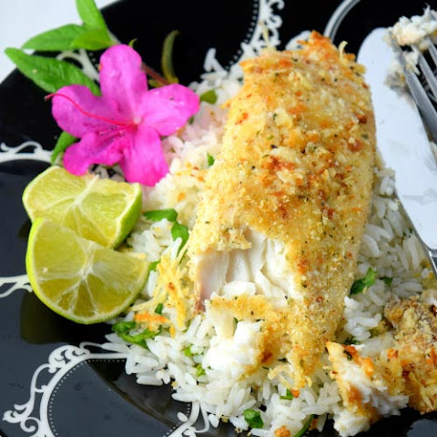 Baked Parmesan Crusted Tilapia Under 30 Mins