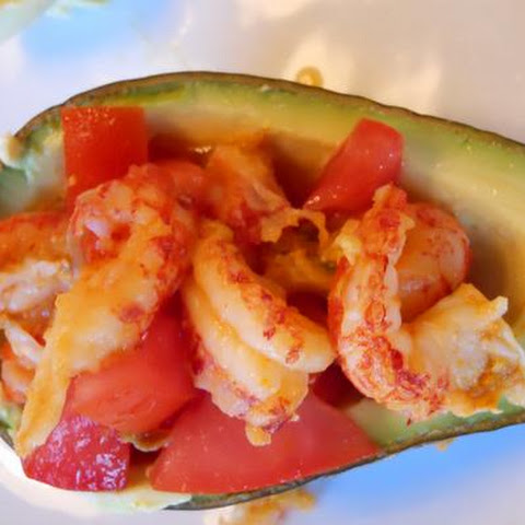 Avocado and Crawfish Appetizers