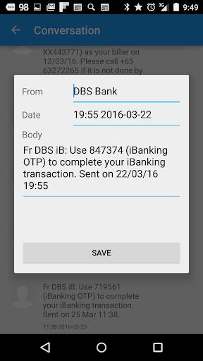 SMS Editor - screenshot
